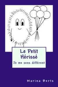 Livre illustré 'Je me sens différent' de la série Le Petit hérissé